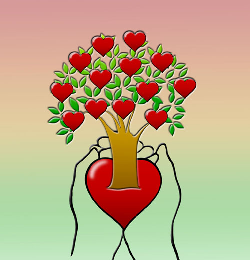 Nurturing Hearts Logo Color